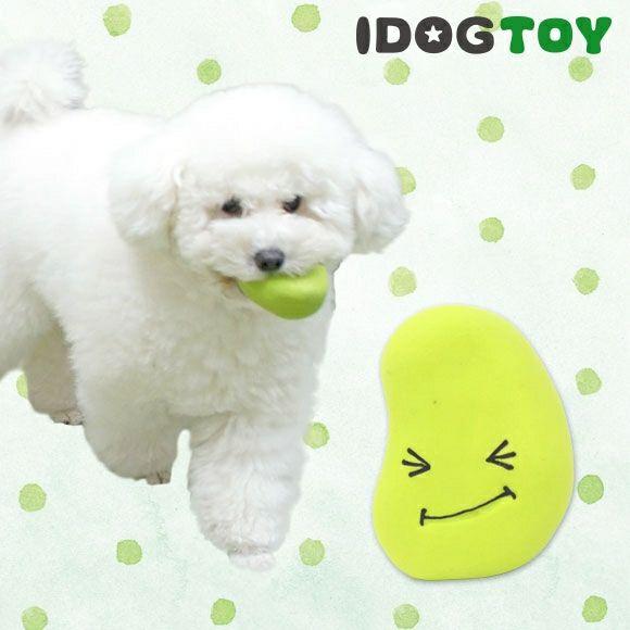 【 犬 おもちゃ 】IDOG&ICAT オリジナルラテックスTOY はじけるそらマメ