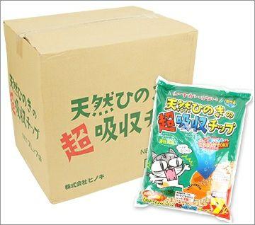 【 猫砂 】ヒノキ シート不要 流せる天然ひのきの超吸収チップ お徳用7L×6袋セット