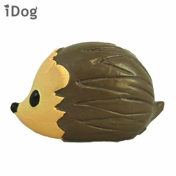 【 犬 おもちゃ 】iDog TOY ラテックスTOY ころりんハリネズミ アイドッグ